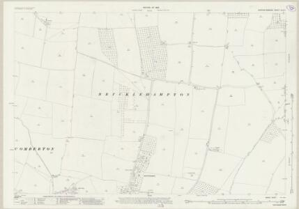 Worcestershire XLIX.1 (includes: Bricklehampton; Cropthorne; Elmley Castle; Little Comberton; Netherton) - 25 Inch Map