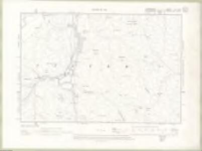 Lanarkshire Sheet XL.SW - OS 6 Inch map