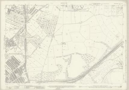 Nottinghamshire XLII.3 (includes: Carlton; Holme Pierrepont; Nottingham) - 25 Inch Map