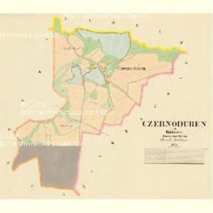 Czernoduben - c0915-1-001 - Kaiserpflichtexemplar der Landkarten des stabilen Katasters