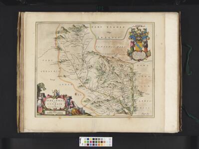 Evia et Escia Scotis, Evsdail et Eskdail / Auct. Timotheo Pont, I. Blaeu excud.