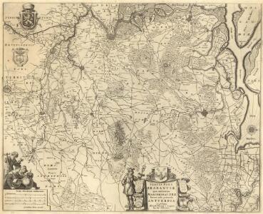 Tertia Pars Brabantiae qua continetur Marchionat. S.R.I. horum urbs primaria Antverpia