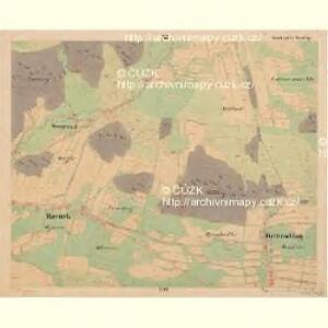 Reiterschlag - c5640-2-011 - Kaiserpflichtexemplar der Landkarten des stabilen Katasters