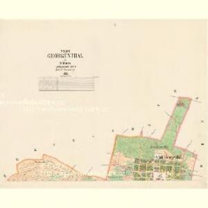 Georgenthal - c2930-1-001 - Kaiserpflichtexemplar der Landkarten des stabilen Katasters