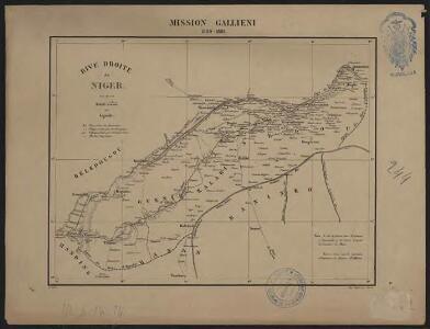 Mission Galliéni 1880-1881. Rive droite du Niger