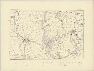 Shropshire LXXI.SW - OS Six-Inch Map