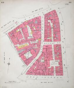 Insurance Plan of City of London Vol. III: sheet 63