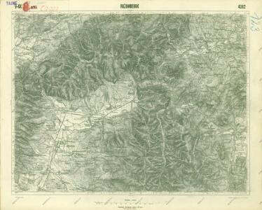 III. vojenské mapování 4362