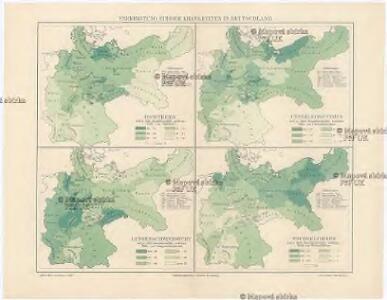Verbreitung einiger Krankheiten in Deutschland