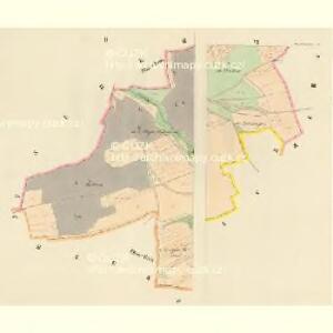 Dneschtitz - c1154-1-002 - Kaiserpflichtexemplar der Landkarten des stabilen Katasters
