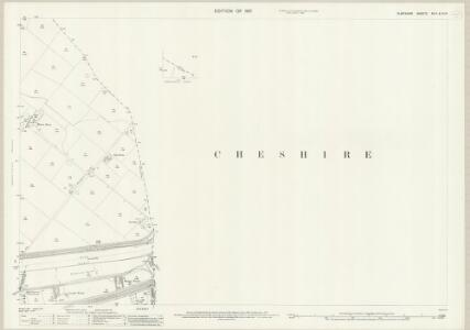 Flintshire XV.2 & XI.14 (includes: Bache; Chester; East Saltney; Sealand) - 25 Inch Map