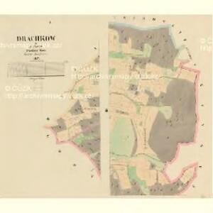 Drachkow - c1506-1-001 - Kaiserpflichtexemplar der Landkarten des stabilen Katasters