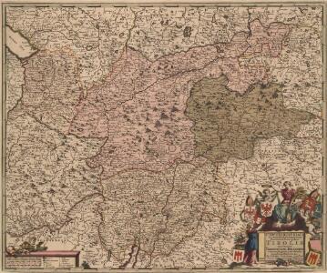 Circuli Austriaci Pars Occidentalior, Comprehendens Comitatum Principalem Tirolis Episcopatus Tridentinum et Brixensem Comitatus Brigantinum Feldkirchiae Sonnebergae Pluentii etc.