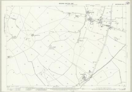 Bedfordshire V.9 (includes: Bolnhurst and Keysoe; Little Staughton; Pertenhall; Swineshead) - 25 Inch Map