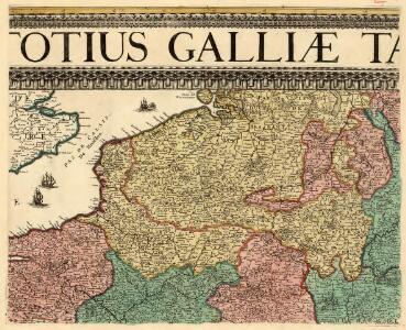 Nova et Accuratißima Galliae Tabula, Vulgo Royaume De France
