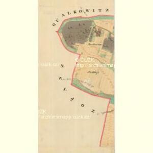 Doeschen - m0425-1-008 - Kaiserpflichtexemplar der Landkarten des stabilen Katasters