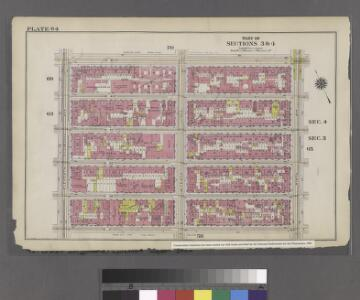 Part of Sections 3 & 4 : Plate 64.