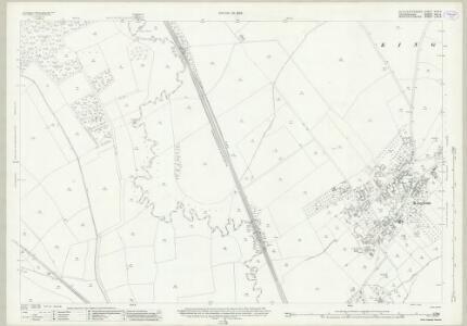 Gloucestershire XXIX.4 (includes: Bledington; Churchill; Kingham; Oddington) - 25 Inch Map