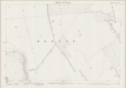 Norfolk LXXXIII.3 (includes: Hilborough; Ickburgh; Little Cressingham) - 25 Inch Map