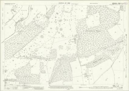 Berkshire X.8 (includes: Clifton Hampden; Culham; Nuneham Courtenay; Radley; Toot Baldon) - 25 Inch Map