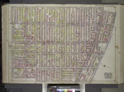 Brooklyn, Vol. 1, Double Page Plate No. 26; Part of Wards 7, 21 & 23, Sections 6 & 7; [Map bounded by Marcy Ave., Fulton St., New York Ave., Atlantic Ave.; Including Grand Ave., Lafayette Ave., Steuben St., Willoughby Ave.] / by and under the directio...