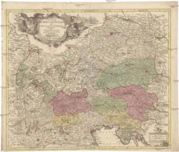 Potentia archiducum Austriae sive circuli Austriaci delineatio