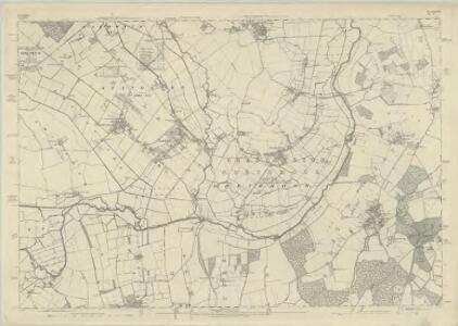 Oxfordshire XXXII - OS Six-Inch Map