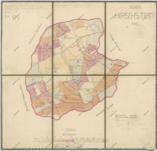 Porostní mapa revíru Herštejn