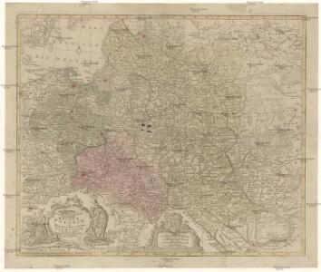 Mappa geographica, ex novissimis observationibus repraesentans regnum Poloniae et magnum ducatum Lithuaniae