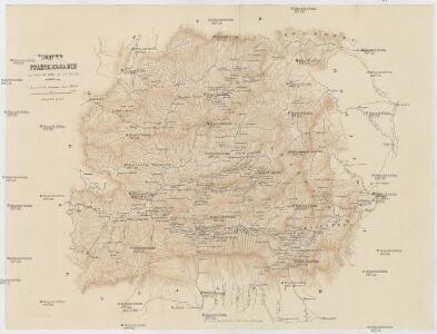 Karta Transil'vanii [k] opisaniju vojny v sej oblasti v 1849 godu