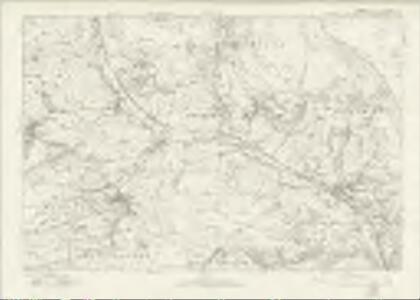 Derbyshire X - OS Six-Inch Map
