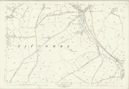 Somerset LXV.6 (includes: Bruton; Pitcombe; Shepton Montague) - 25 Inch Map