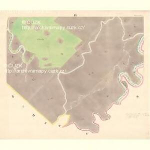 Turnitz (Twrdonice) - m3180-1-009 - Kaiserpflichtexemplar der Landkarten des stabilen Katasters