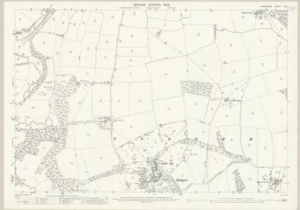 Shropshire LII.6 (includes: Badger; Beckbury; Stockton) - 25 Inch Map