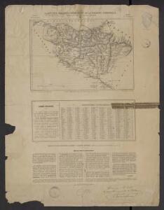 Carte des provinces basques et de la Navarre espagnoles, pour suivre les opérations carlistes