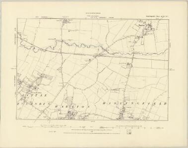 Cambridgeshire XLVI.SW - OS Six-Inch Map