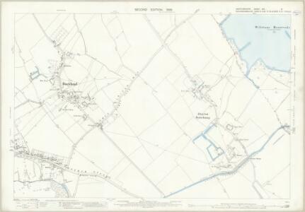 Hertfordshire XXV.9 (includes: Aston Clinton; Buckland; Drayton Beauchamp; Tring Rural) - 25 Inch Map