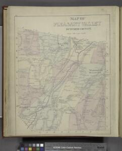 Map of Pleasant Valley Dutchess County. [Township]