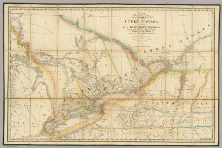 A Map of the Province of Upper Canada.