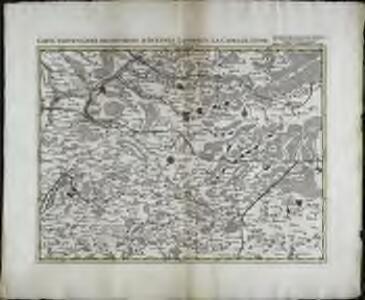 Carte particuliere des environs d'Avesnes Landrecy, la Capelle, Guise