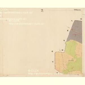 Pernek - c5699-1-006 - Kaiserpflichtexemplar der Landkarten des stabilen Katasters