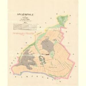 Swatopole - c7590-1-001 - Kaiserpflichtexemplar der Landkarten des stabilen Katasters