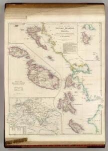 The Ionian Islands and Malta.