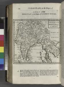 India, or the Mogul's Empire.