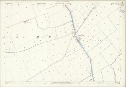 Lincolnshire XL.15 (includes: Alvingham; Conisholme; Covenham St Mary; Grainthorpe; Yarburgh) - 25 Inch Map