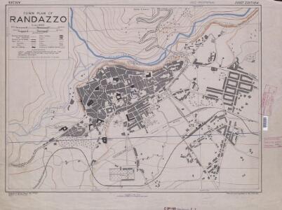 Town plans of Sicily, Randazzo