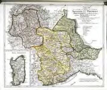 Karte von den Staaten des Königs von Sardinien