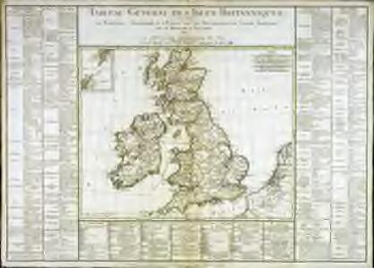 Tableau général des isles Britanniques