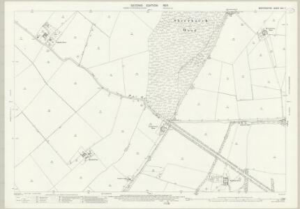 Bedfordshire XVII.7 (includes: Cople; Northill; Old Warden; Willington) - 25 Inch Map