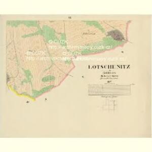 Lotschenitz - c4191-1-006 - Kaiserpflichtexemplar der Landkarten des stabilen Katasters